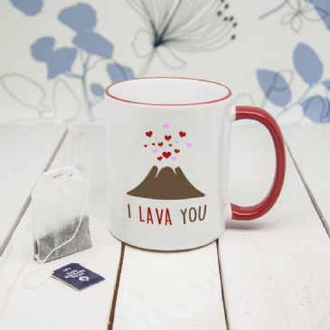 "I Lava You"" Romantic Mug (unpersonalised)"""